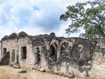 Vieilles ruines de mosquée chez Kilwa Kisivani Photos stock