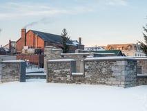 Vieilles ruines de moulin Photographie stock