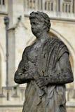 Vieilles statues de Bath Image stock