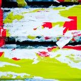 Vieilles textures de grunge d'affiches Photos stock