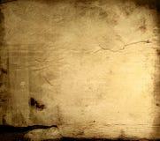Vieilles textures de papier Image stock