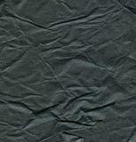 Vieilles textures de papier noires Images libres de droits