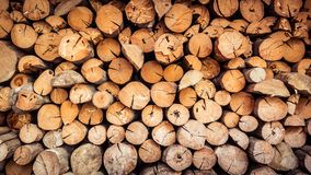 Vieilles textures en bois de rondin et de bois de construction Photographie stock