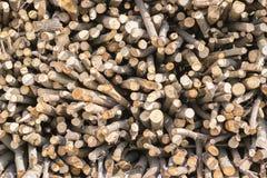 Vieilles textures en bois de rondin et de bois de construction pour le fond Image libre de droits