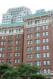 Vieilles tours de logement de brique à Boston Photos stock