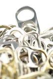 Vieilles tractions en aluminium d'anneau photographie stock