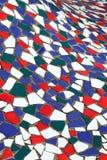 Vieilles tuiles colorées Images stock