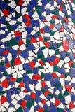 Vieilles tuiles colorées Photo stock