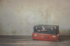 Vieilles valises photos stock
