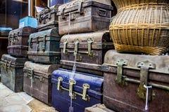 Vieilles valises Photo stock