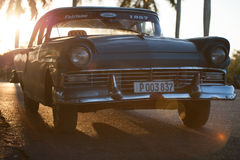 Vieilles voitures américaines classiques Photographie stock libre de droits