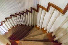 Vieilles vues du Curaçao d'escaliers photographie stock