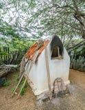Vieilles vues slaves du Curaçao de four photographie stock