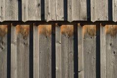 Vieillissement et bois superficiel par les agents Photographie stock libre de droits