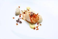 Vieira do alimento gourmet Fotografia de Stock