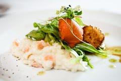 Vieiras do alimento gourmet Imagem de Stock