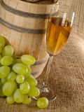 Vieja aún-vida del vino Imagen de archivo