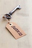 Vieja, adornada llave Imagenes de archivo