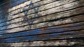 Vieja apocalipsis de madera del fondo de la textura stock de ilustración