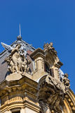 Vieja arquitectura de Bucarest Fotos de archivo libres de regalías