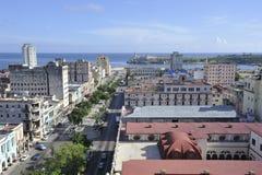 Vieja arquitectura de La Habana en Cuba Imágenes de archivo libres de regalías