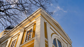 Vieja arquitectura de la iglesia fotos de archivo