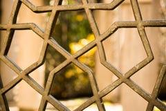 Vieja arquitectura de la ventana a partir de los tiempos del otomano Foto de archivo libre de regalías