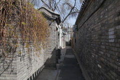 Vieja arquitectura de Pekín Imágenes de archivo libres de regalías