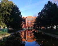 Vieja arquitectura hermosa de Szczecin, Polonia fotos de archivo
