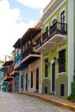 Vieja banda colorida de San Juan Foto de archivo libre de regalías