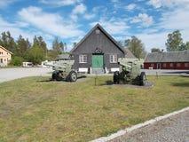Vieja base militar Imagen de archivo libre de regalías