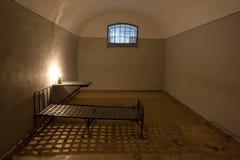 Vieja célula de cárcel Imagenes de archivo