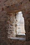 Vieja célula de piedra de la torre Imagen de archivo libre de regalías