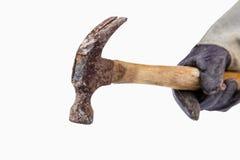 Vieja cabeza de martillo Imágenes de archivo libres de regalías