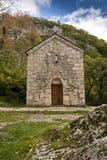 Vieja capilla en Georgia Imagen de archivo libre de regalías