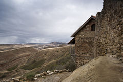 Vieja capilla en Georgia Fotos de archivo libres de regalías