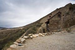 Vieja capilla en Georgia Foto de archivo