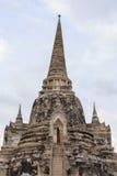 Vieja capital anterior de la pagoda de Tailandia Fotografía de archivo