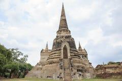 Vieja capital anterior de la pagoda de Tailandia Imágenes de archivo libres de regalías