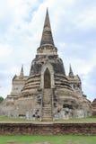 Vieja capital anterior de la pagoda de Tailandia Imagen de archivo libre de regalías