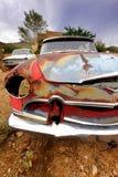 Vieja carrocería de coche rústica Foto de archivo