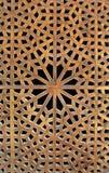 Vieja celosía de madera Foto de archivo libre de regalías