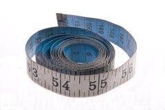 Vieja cinta métrica Foto de archivo libre de regalías