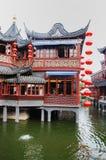 Vieja configuración de China Foto de archivo libre de regalías