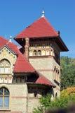 Vieja configuración de la casa Imagen de archivo libre de regalías