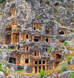 Vieja configuración de piedra dentro de la montaña Imagen de archivo libre de regalías