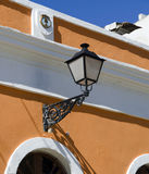 Vieja configuración de San Juan imagen de archivo