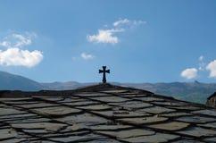 Vieja cruz Foto de archivo libre de regalías