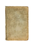 Vieja cubierta del libro en un fondo blanco Imágenes de archivo libres de regalías