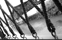 Vieja cuerda Imagen de archivo